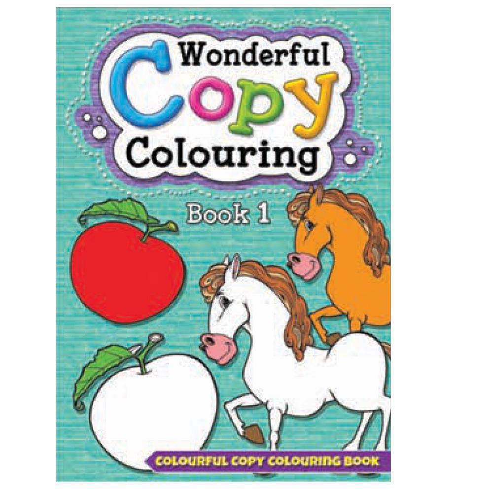 Wonderful Copy Colouring Book 1 | Shopee Malaysia