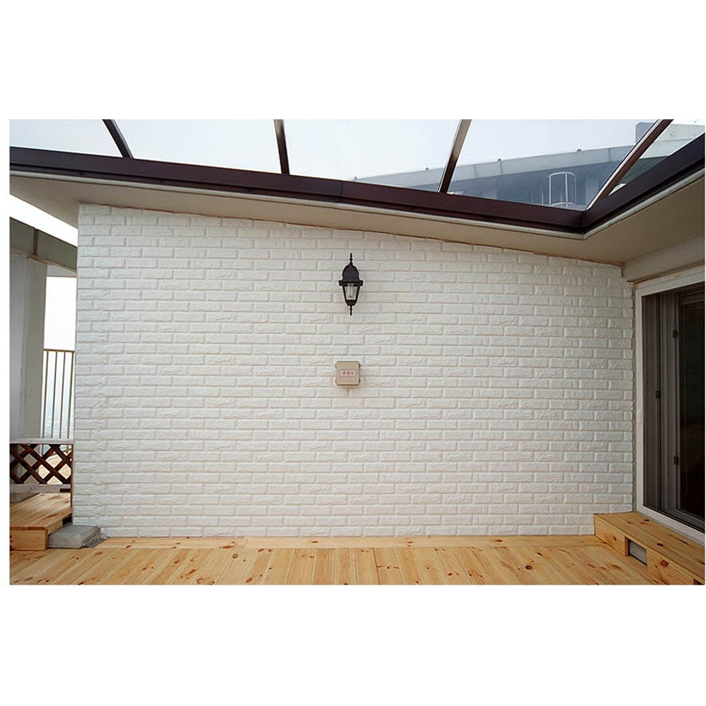 3D Easy Brick Block Special PVC Material DIY Home Decoration Wallpaper 3D PVC Blok Bata Hiasan Dinding Rumah Murah