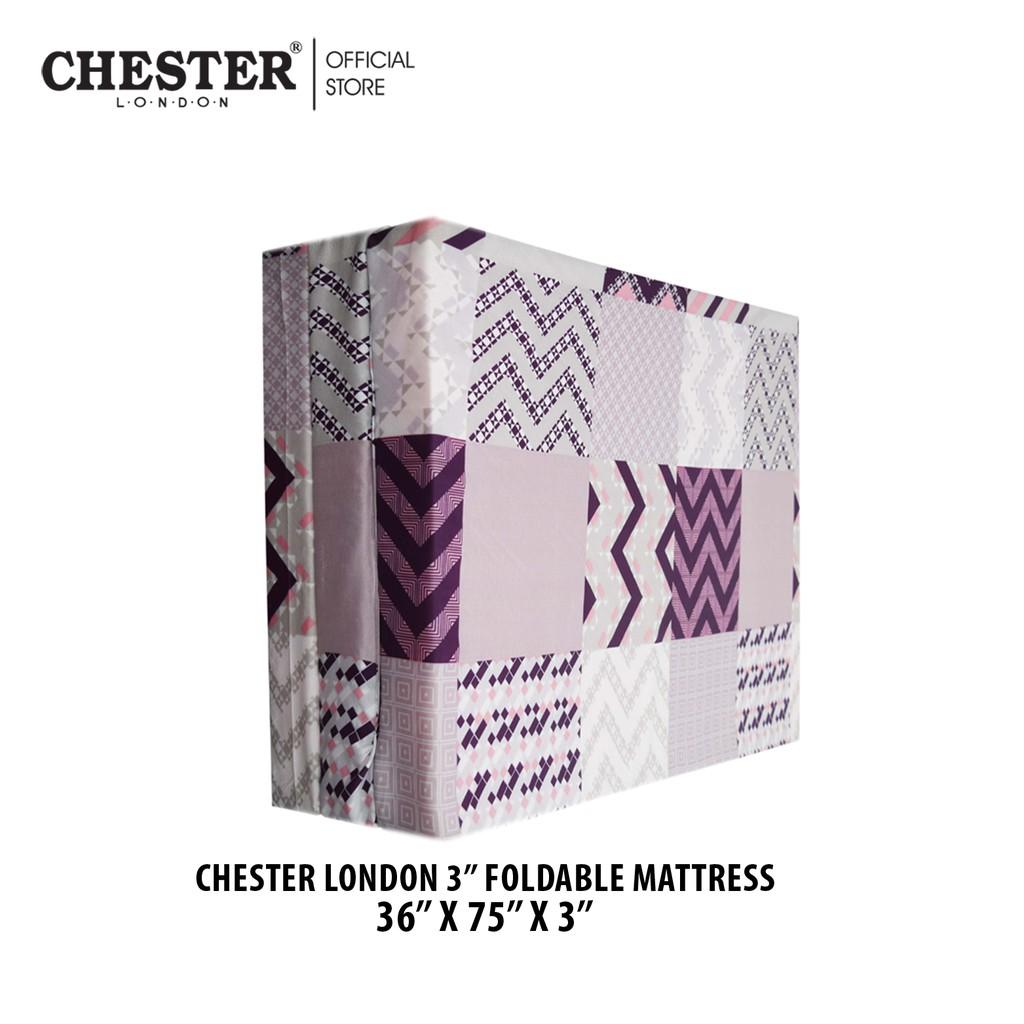 Chester London 3 Fold Single Mattress Bed - 3 inch