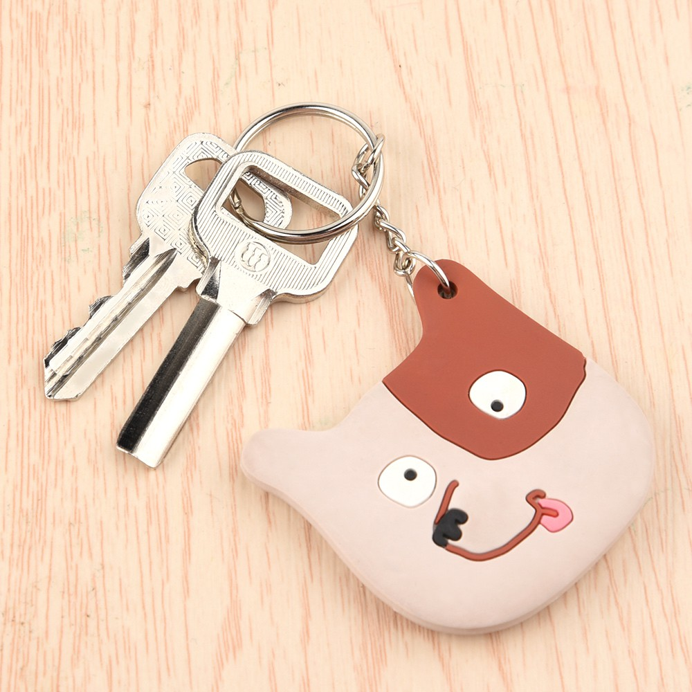 FEPITO 30Pcs Keyring Blanks Split Metal Key Rings with Link Chain and Open  Jump Rings for Keys