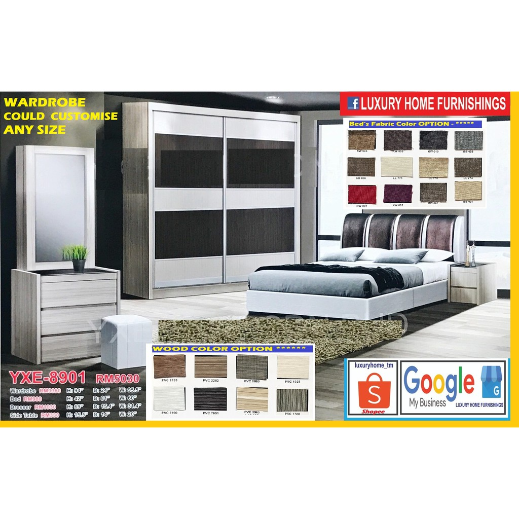 BED ROOM SET, 8'X8' FULL SET, ON THE SUPER SAVER LAUNCHING PROMOTIONS
