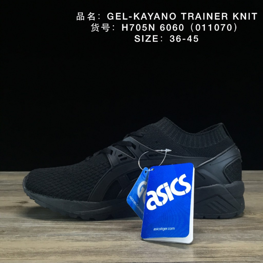 sneakers for cheap 2df72 d06b5 Ready Stock ASICS GEL-KAYANO TRAINER KNIT Running Shoes Man Women Sneakers