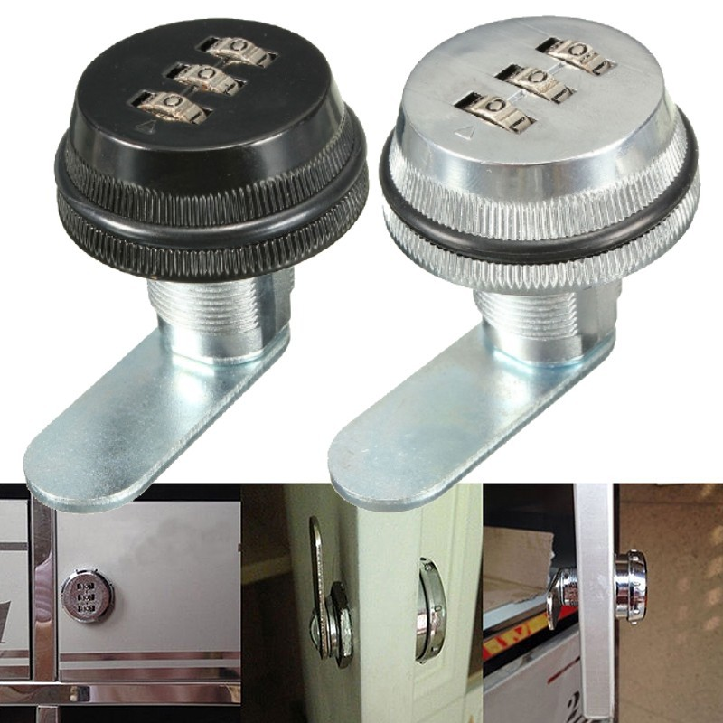 3-Digit Combination Lock For Letter Box, Locker, Cabinet, Digital Lock