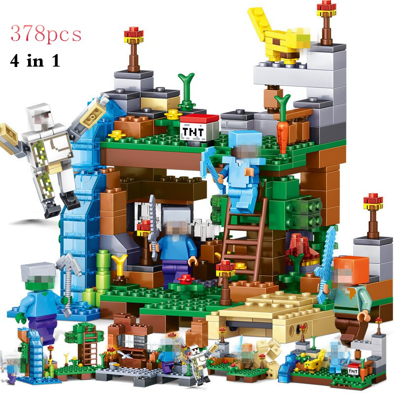 Garden Legoin Compatible Figures Minecrafted Blocks Building Diy Bricks My World mw0OPy8nvN