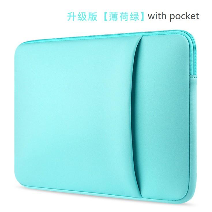 Apple laptop bag macbook 11 12 13 14 15 15.6 inch ipad protective pocket bag