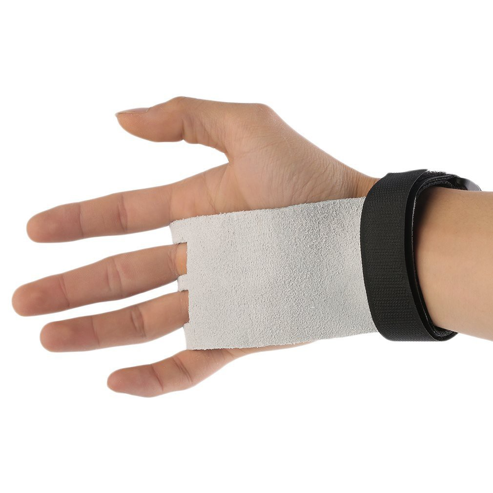a1068bf8acfe Hand Grip Synthetic Leather Crossfit Gymnastics Guard Palm Protectors Glove  | Shopee Malaysia