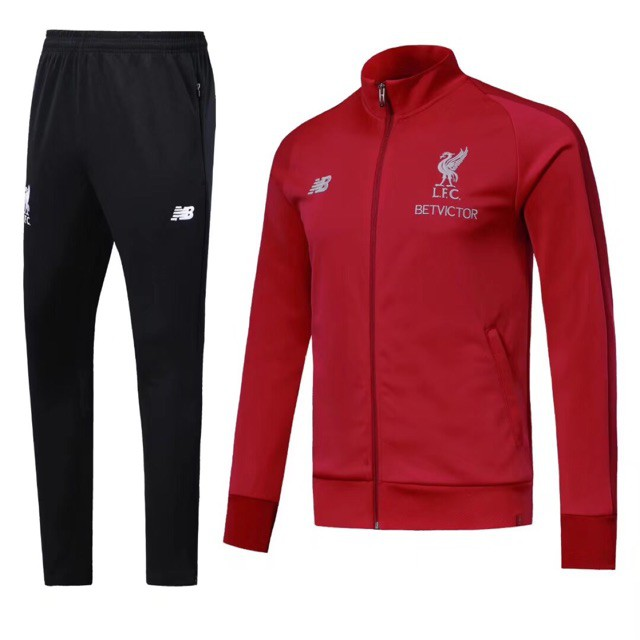 9ca5c2c1b88 Liverpool FC Elite Training Presentation Jacket Sweatshirt Coat Red ...