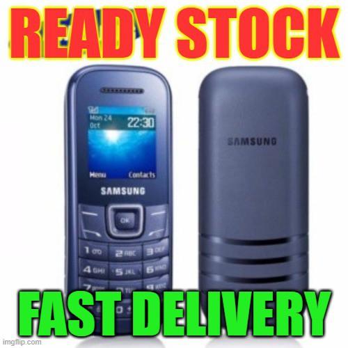 SAMSUNG E1205 MOBILE PHONE BASIC SIMPLE PHONE Ready Stock