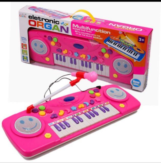 Multifunctional Children Electronic Organ (Blue)