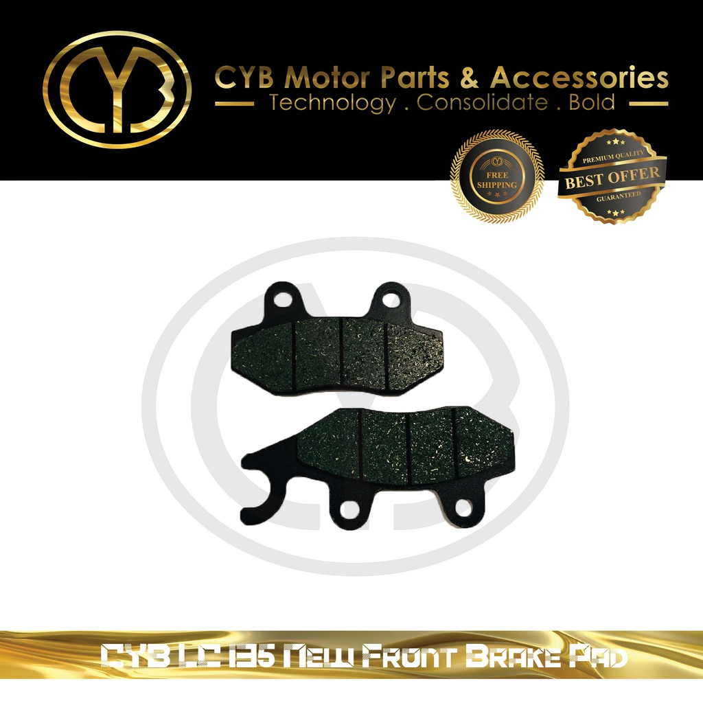 CYB LC135 New Front & LC New Rear Brake Pad