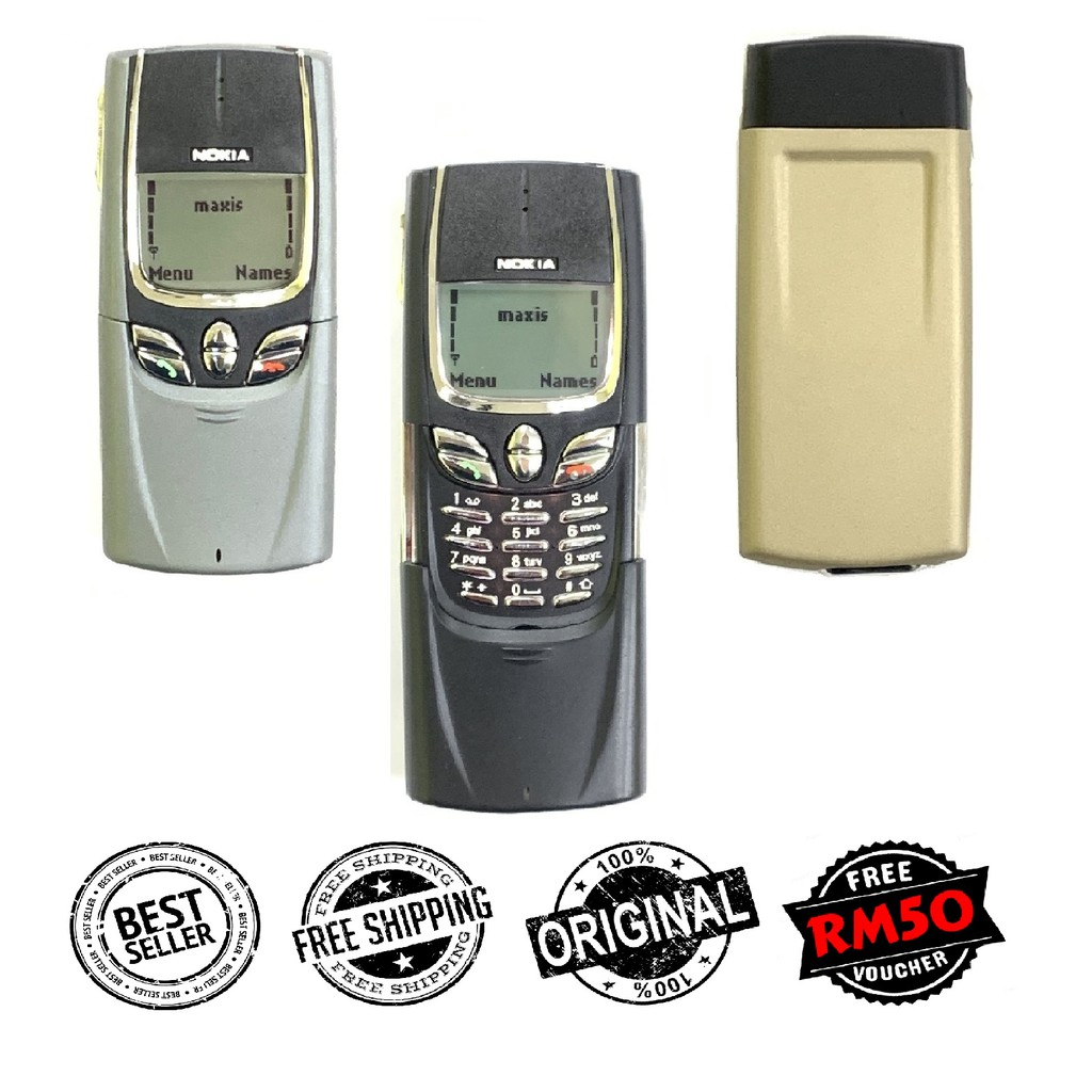 🇲🇾 Original Premium Original Nokia 8850 Metal Alloy Housing + FREE RM50 Voucher [1 Months Warranty]