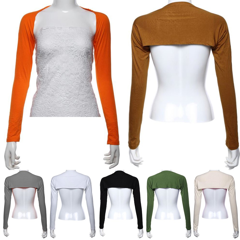 Hayaa Fashion One Piece Sleeves Arm Warmers Cover Shrug Bolero Hijab Muslim 20 Colors Women's Arm Warmers