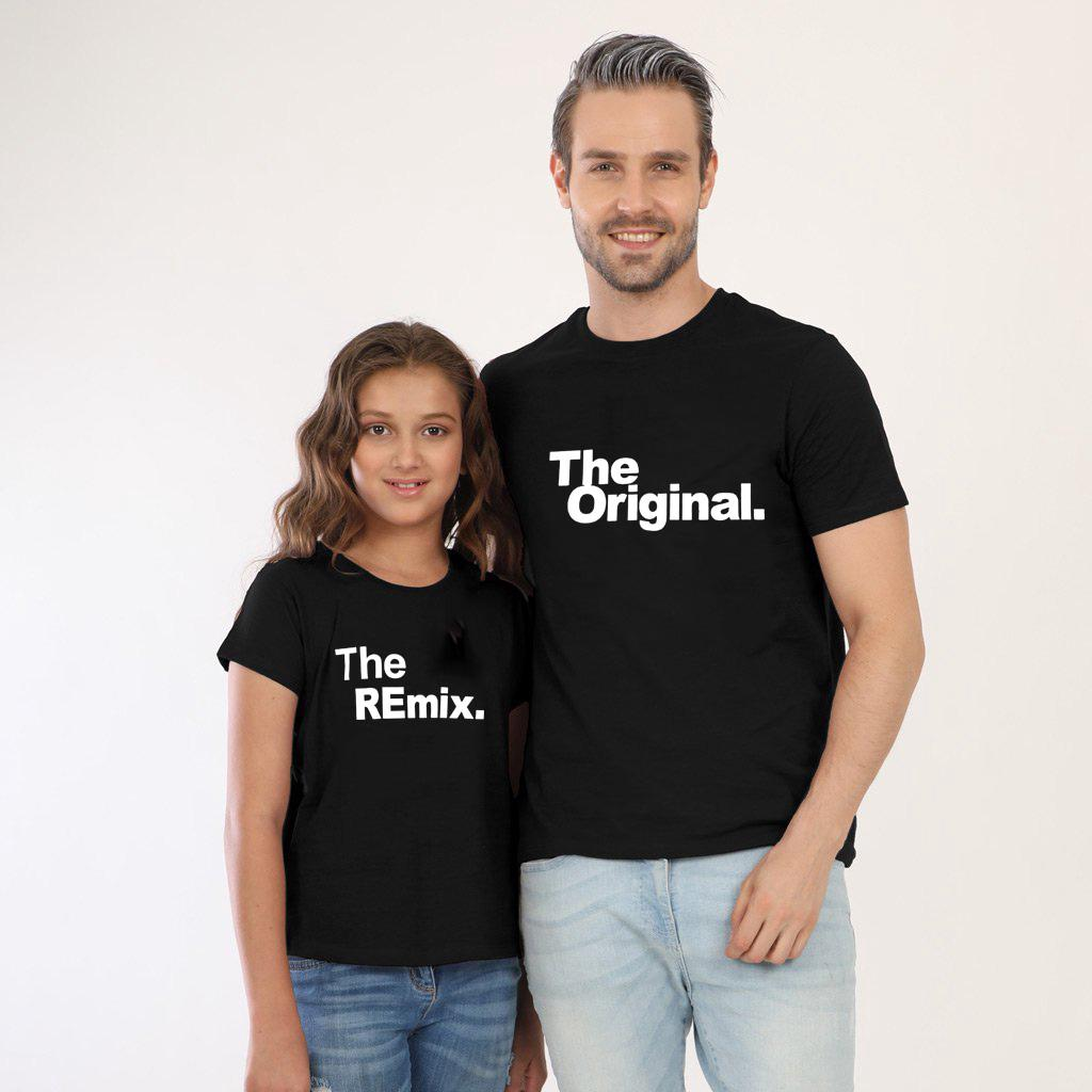 c3ac1da20e4b9 The Original and The Remix Family Matching Outfits Father Daughter ...