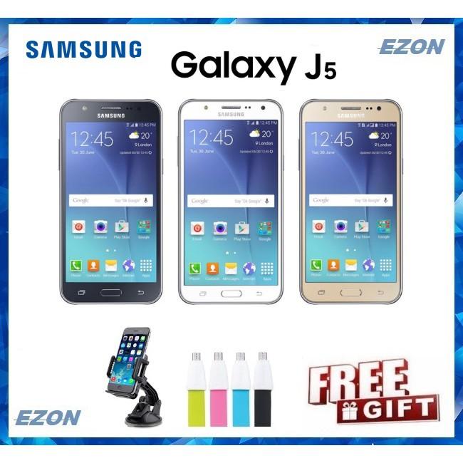 Samsung Galaxy J5 (1 5GB RAM+16GB ROM) - 1 Year Warranty By Distributor