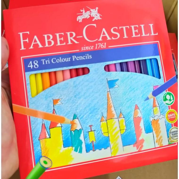 Faber-Castell Tri Colour Pencil 12/24/36/48