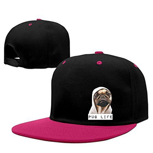 71b8c6cfb Pug Life Unisex Adjustable Baseball Hats Hip-Hop Caps