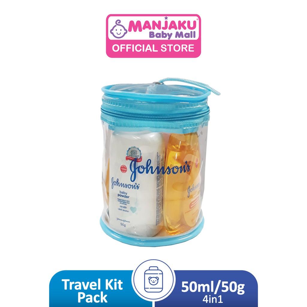 Johnson Baby Mini Travel Kit (50ml)