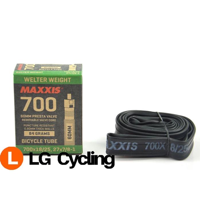 Bike Bicycle Inner Tube  Tube 700 x 25c//28c 33mm Thorn Resistant Presta//Valve