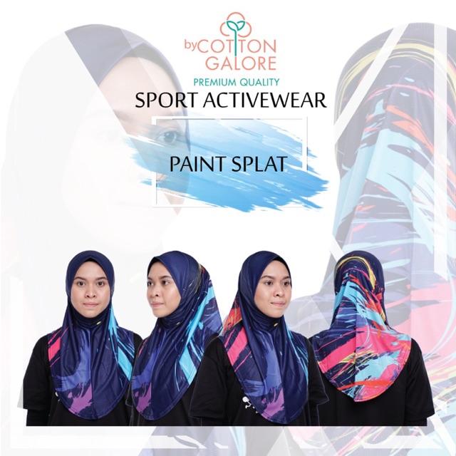 Active Hijab Cotton Galore