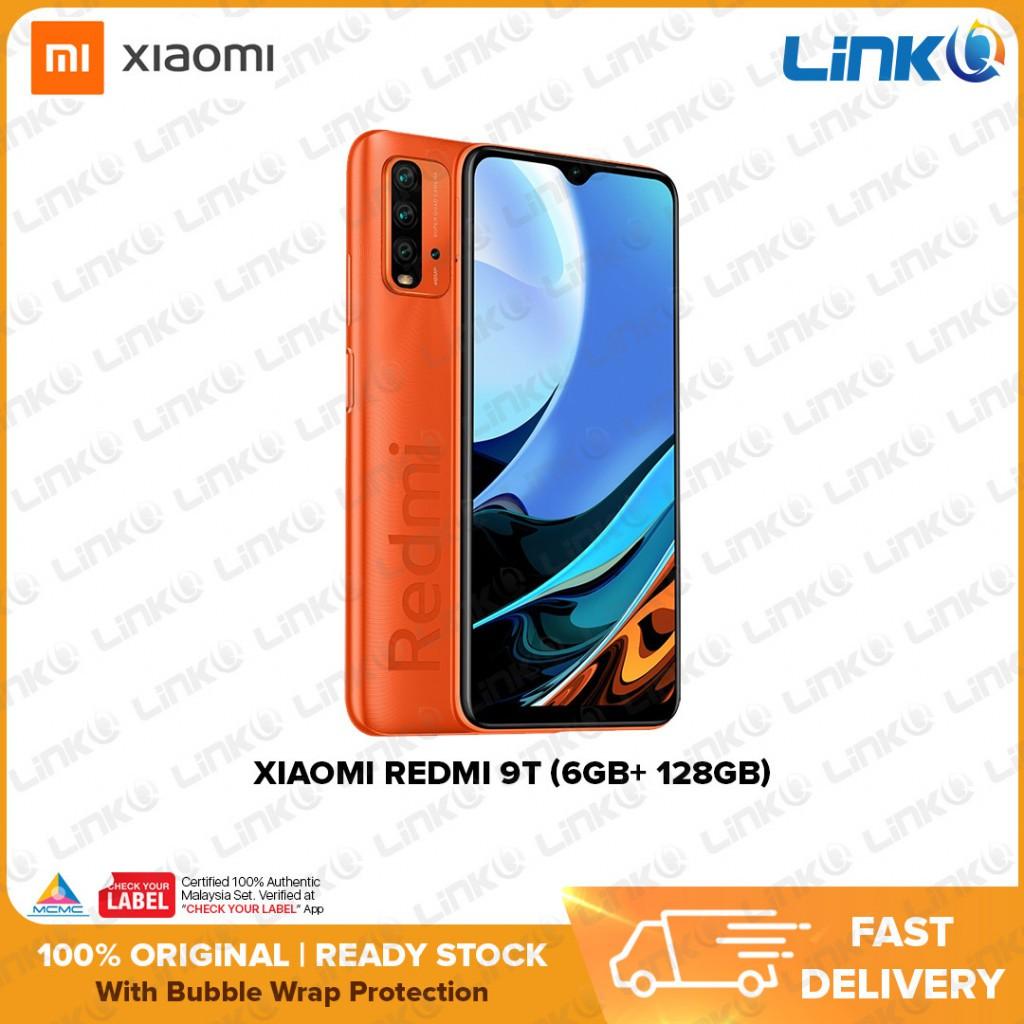 Xiaomi Redmi 9T (6GB RAM + 128GB ROM) Smartphone - Original 1 Year Warranty by Xiaomi Malaysia (MY SET)