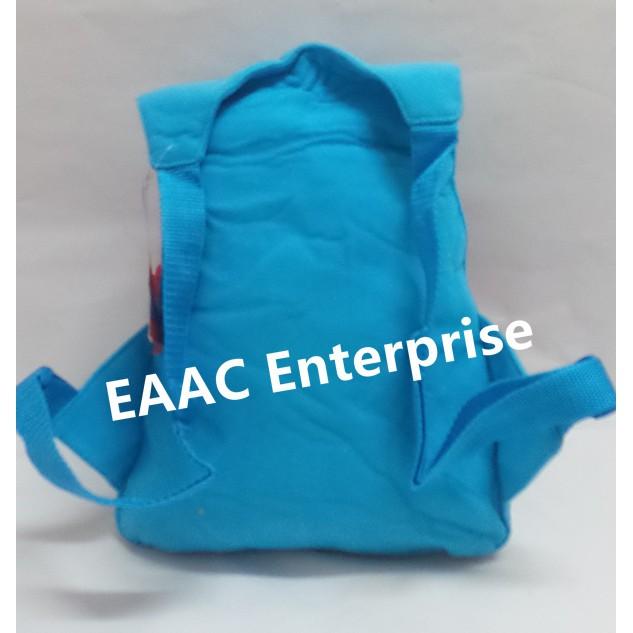 3D Spiderman Cartoon Kid Backpack School Shoulder Bag Blue