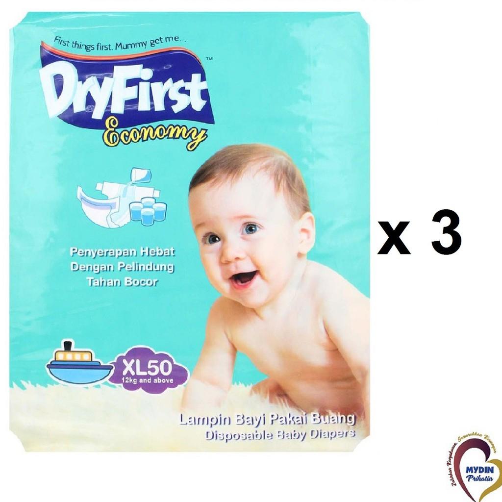 Dryfirst Economy Mega XL50 (3 Pack)