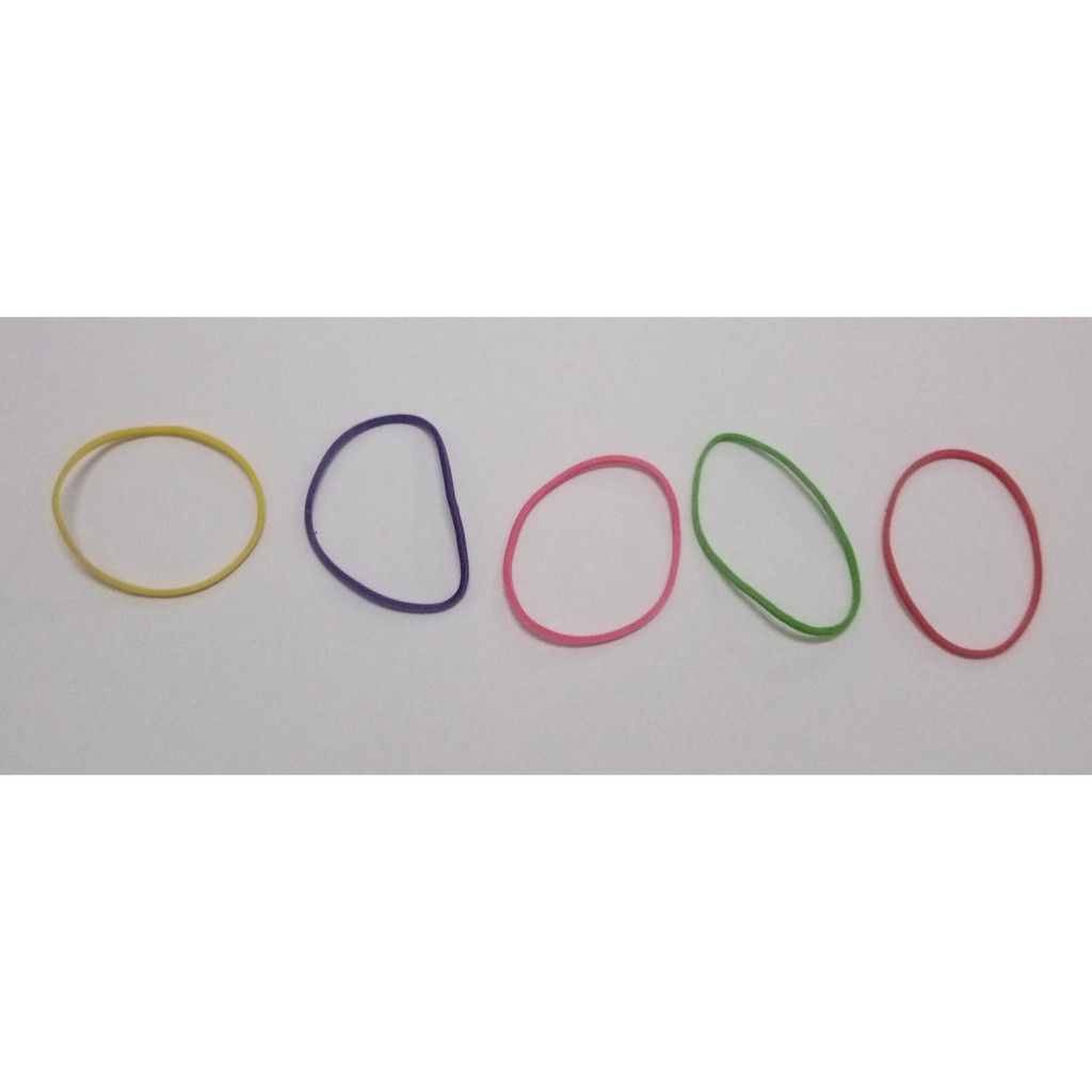38mm KBM Mixed Colour Rubber Band 01, 500g