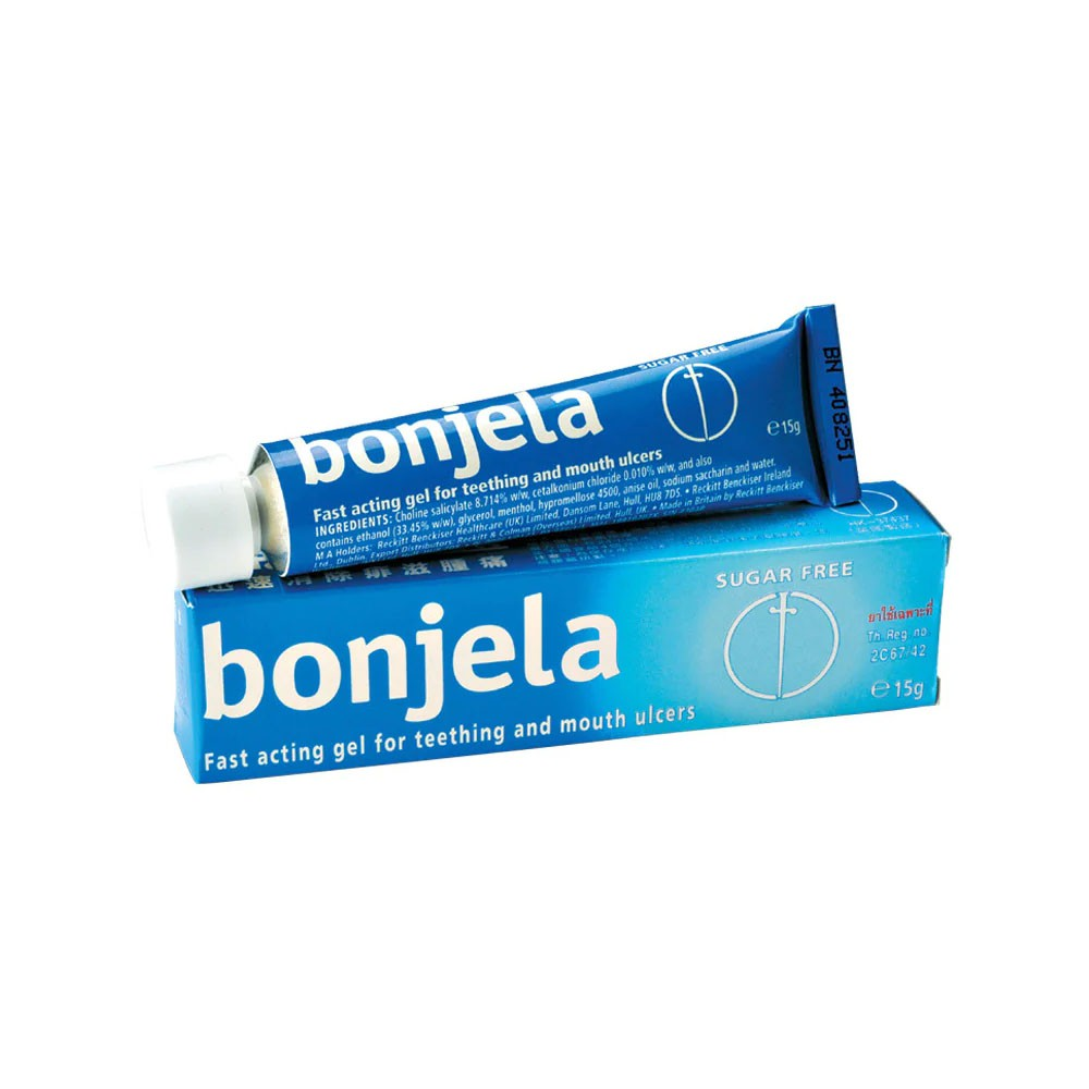 Bonjela Gel 15g (for teething and mouth ulcers)