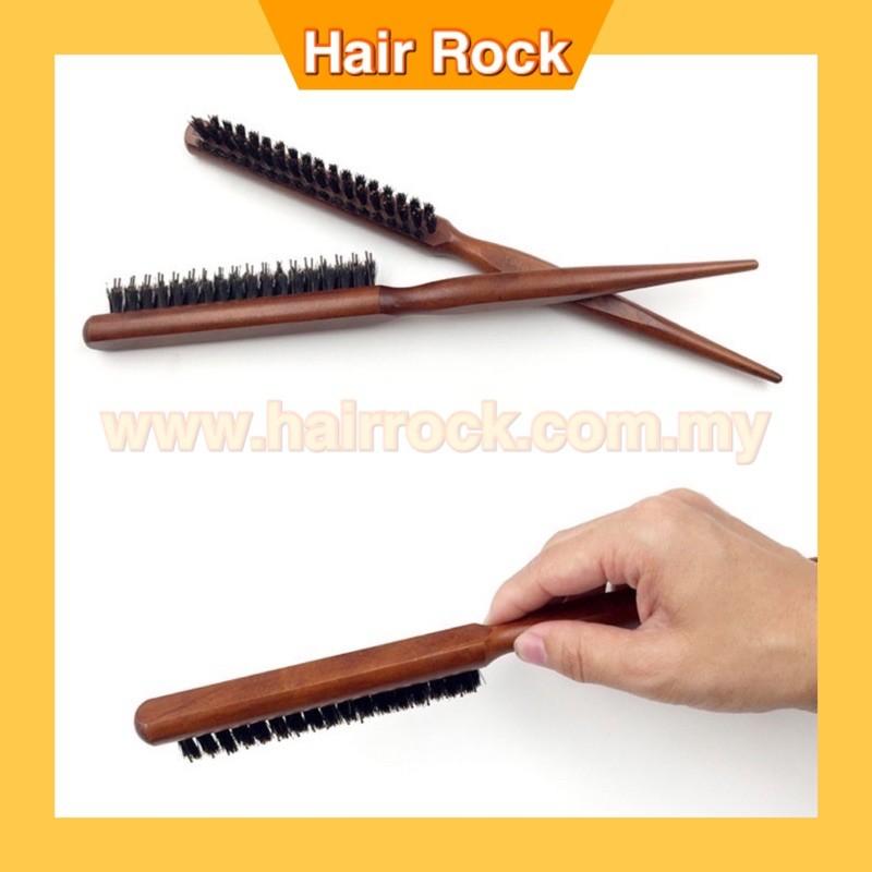 NEKPro Wooden Round Hairstylist Barber Brush (S67)