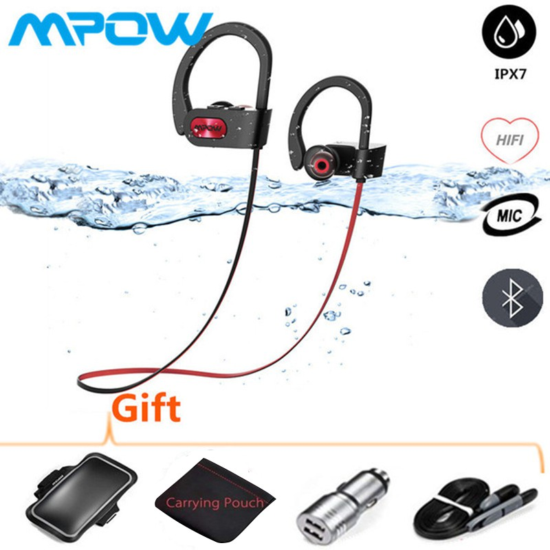 1db1901b843 【Special Offers】Mpow Flame Bluetooth Headphones Waterproof Wireless Earbuds  Sport Richer Bass   Shopee Malaysia