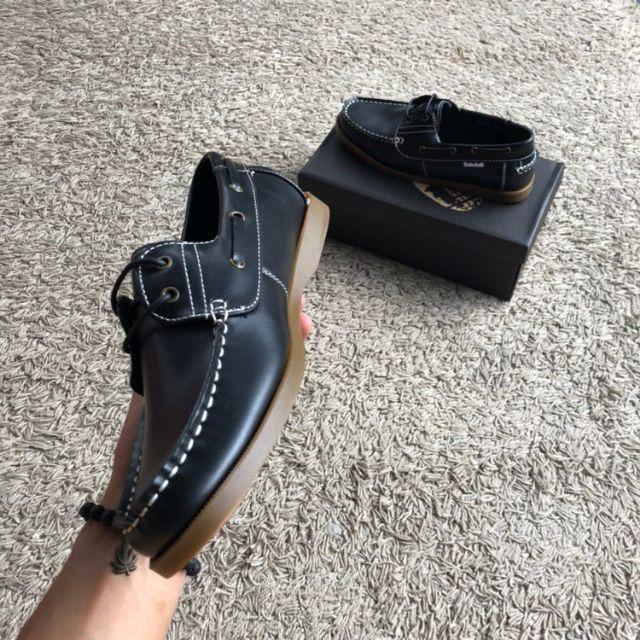 💥NEW STOCK💥TIMB3RLAND BOATS BLACK [40-45 EURO]