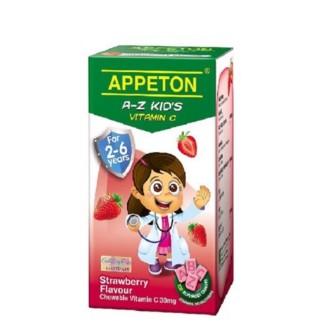 Appeton A-Z Kid's Vitamin C 30mg 100s