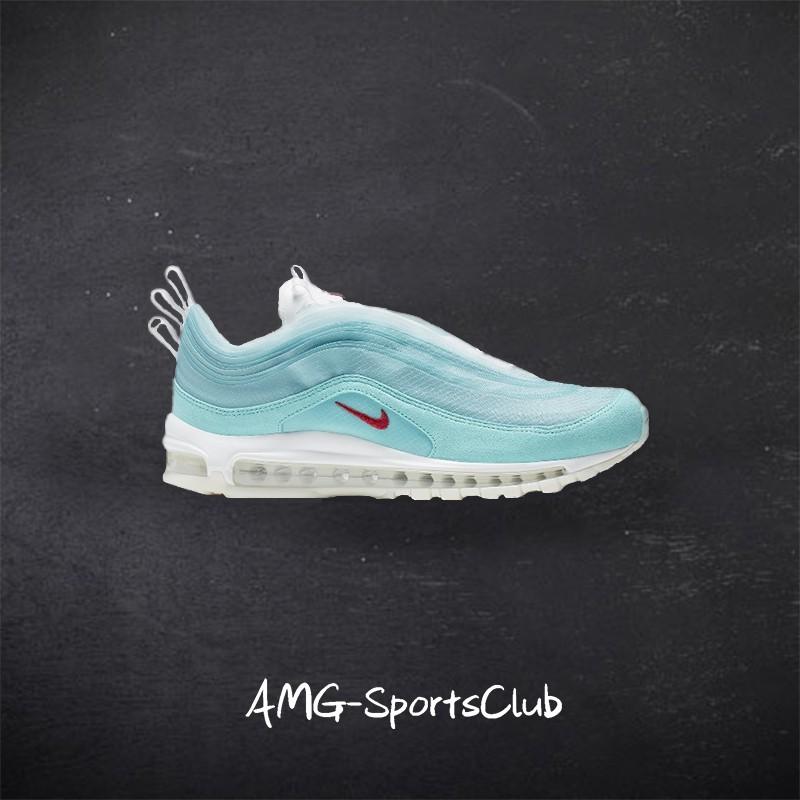 Nike Air Max 97 million flower tube Shanghai limited cloud mint green air cushio