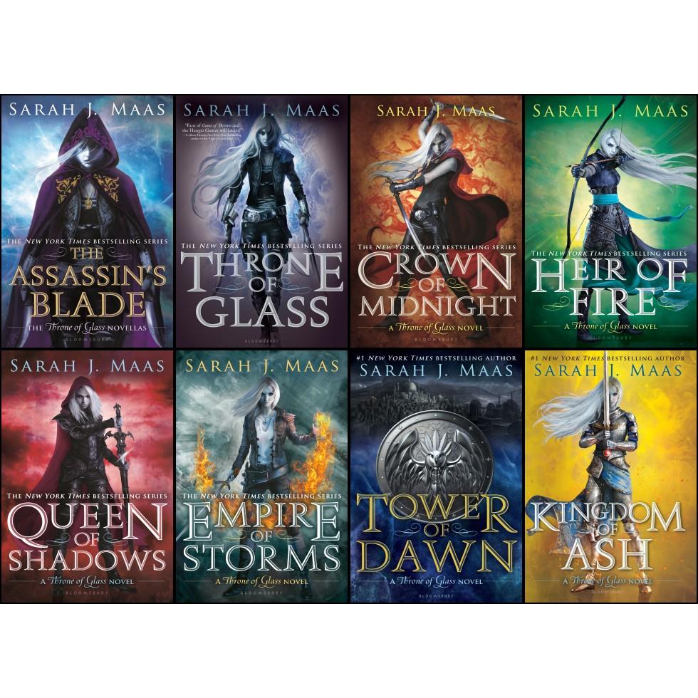 Throne of Glass Series 1-8 by Sarah J Maas eBooks (epub)