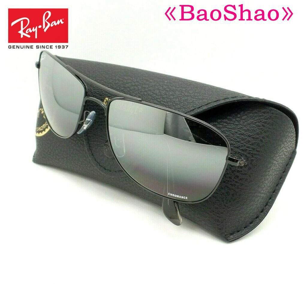 Baoshao Genuine Rayban Sunglasses 3543 002 5l Black Flash Mirror Polarized 59 New Authentic Shopee Malaysia