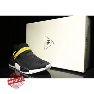 separation shoes 67380 d5c6f eees Adidas NMD human race black and white men's and women's running