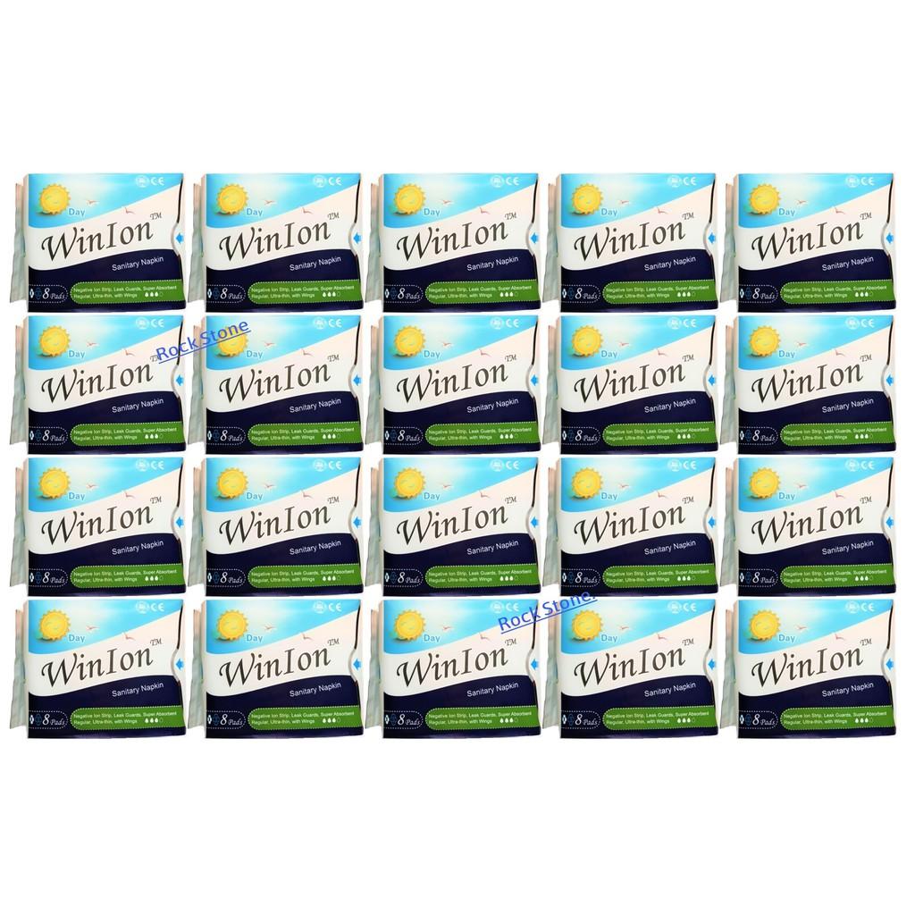[Genuine] Winalite Winion DAY Use Sanitary Napkin 20 Packs (Exp2022)月月爱 [FREE Bag]