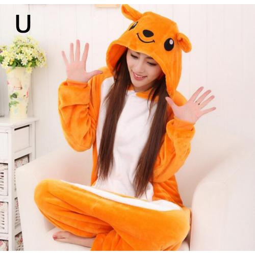 d8bf4b5ba9 ✧ Animal Cosplay Costume Onesie Sleepwear-Kangaroo