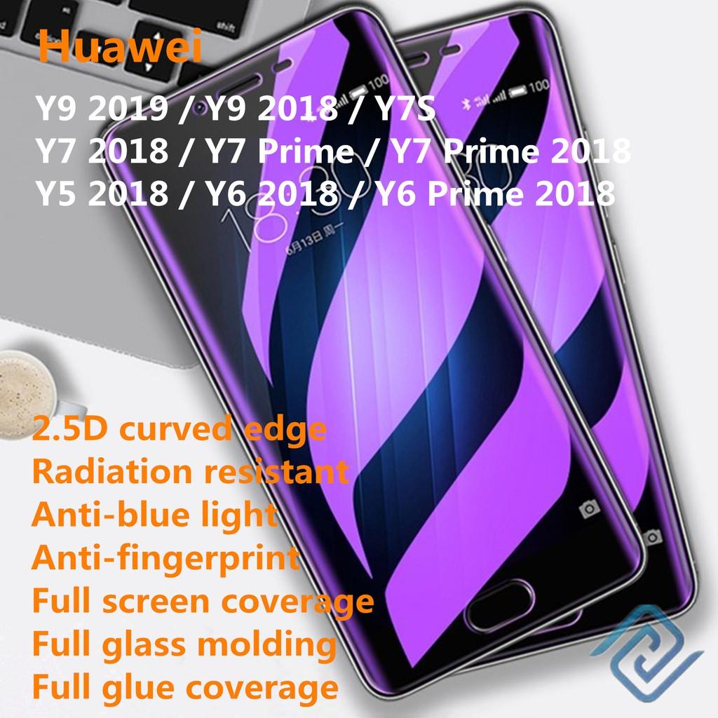 Huawei Y9 2019 Y9 Y7S Y7 Y6 Y5 Prime 2018 Screen Protectors Anti Blueray