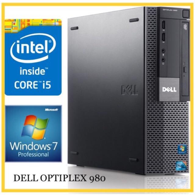 CORE i5 - 650 / DELL OPTIPLEX 980 / RAM 4GB DDR3 / HARD DISKS 250GB / CPU  PC DESKTOPS COMPUTER / FAST SYSTEM