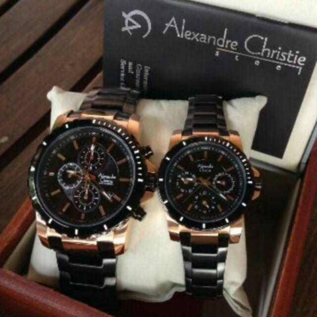 Alexandre Christie ORIGINAL 9216 LEATHER with international warranty and box | Shopee Malaysia