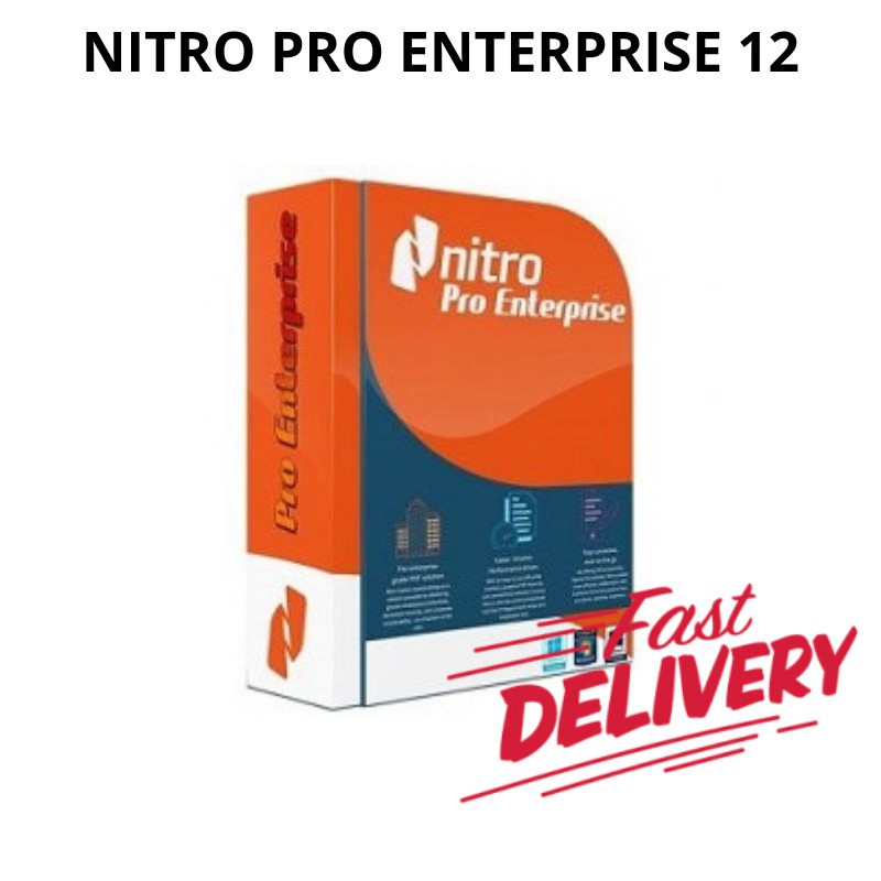 Nitro Pro Enterprise 12 2018 32/64Bit Full Version (Pdf Editor)
