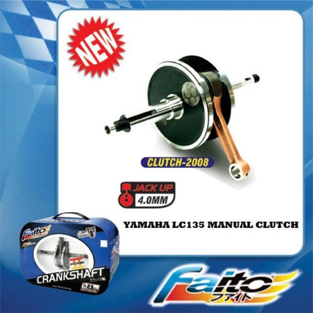 Faito Crankshaft Yamaha Lc135 Hand Clutch Jack Rod 4 0mm