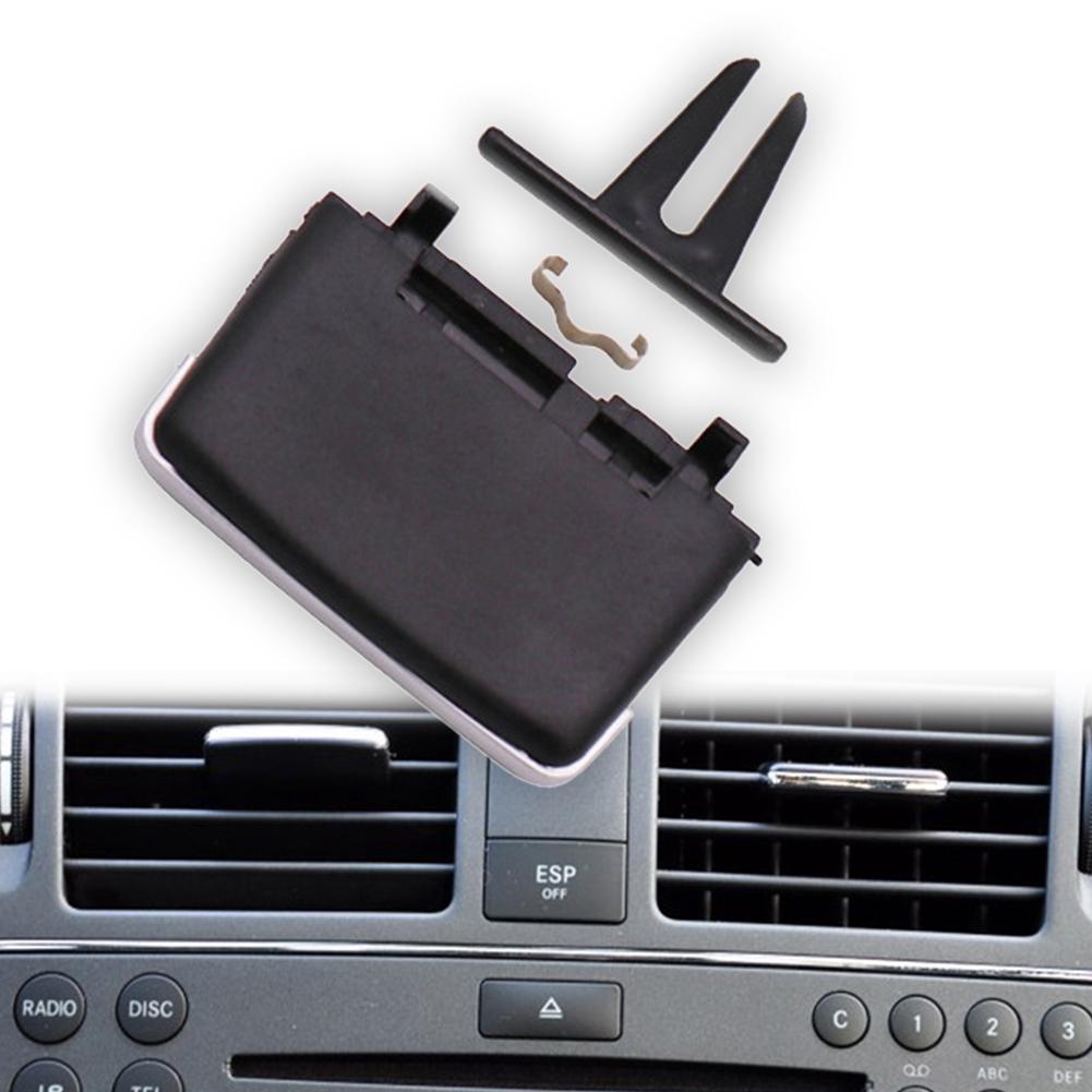 Repair Air Vent Easy Install Black Plastic Outlet Tab Clip Rear Car For Mercedes W204 X204