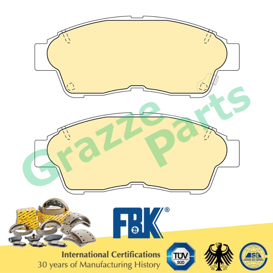 FBK Disc Brake Pad Front for FD2118MS Toyota Caldina ST190G ST215G Camry 2.0 SXV10 SXV20 Corolla AE101 Corona Ipsum