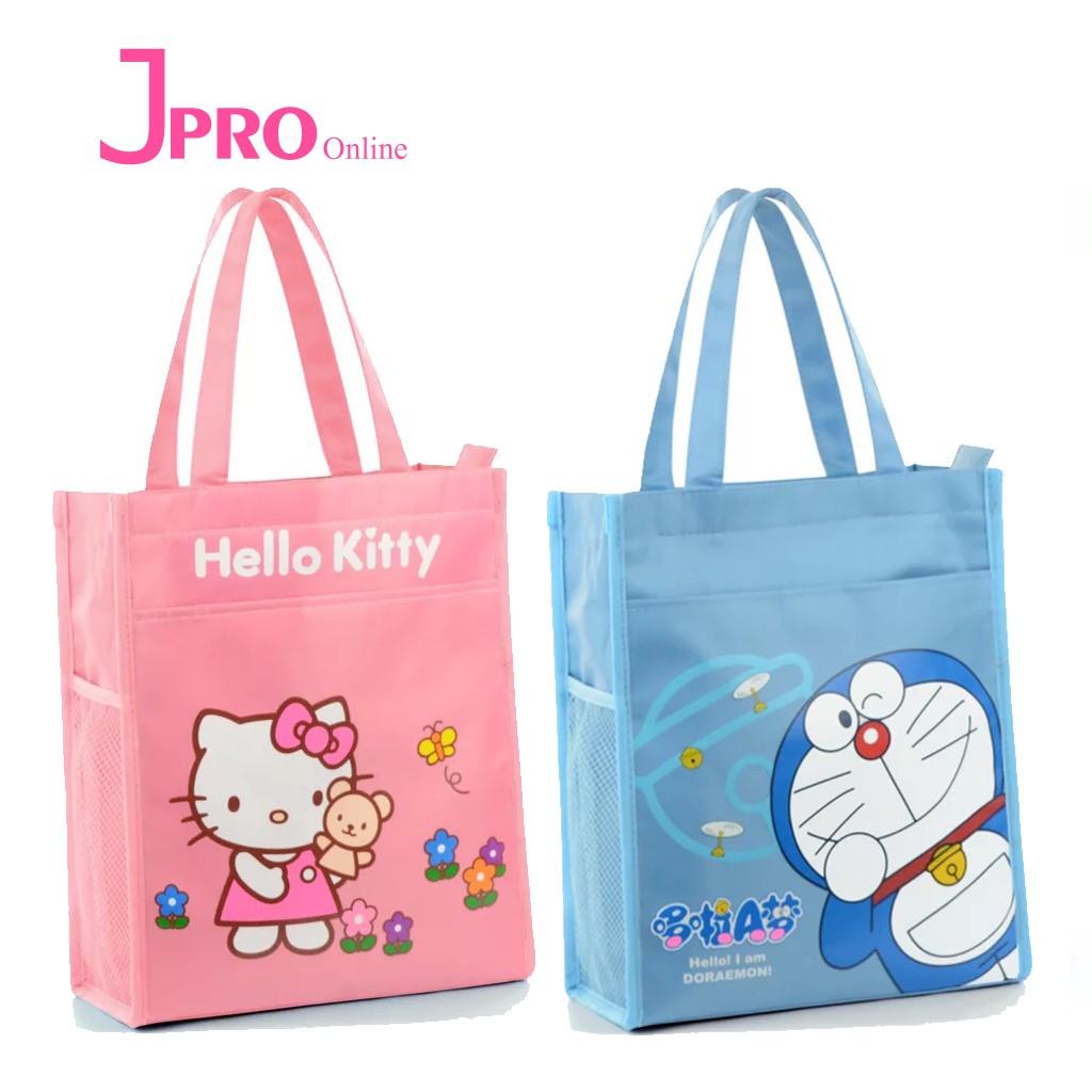 333cecc8a3 Hello Kitty Doraemon High Quality Oxford Waterproof Shoulder Bag Tuition Bag