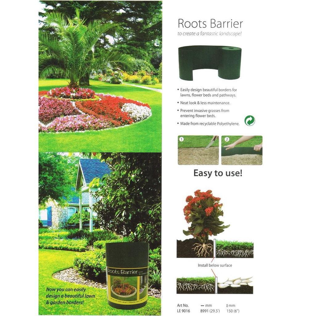 Garden Lawn Edging Border Green Strong Flexible 12cm x 6m 15cm x 9m Great Value!