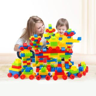 0dfb3eb63 Children Large Particles Building Blocks Puzzle Education Smart Building  Blocks
