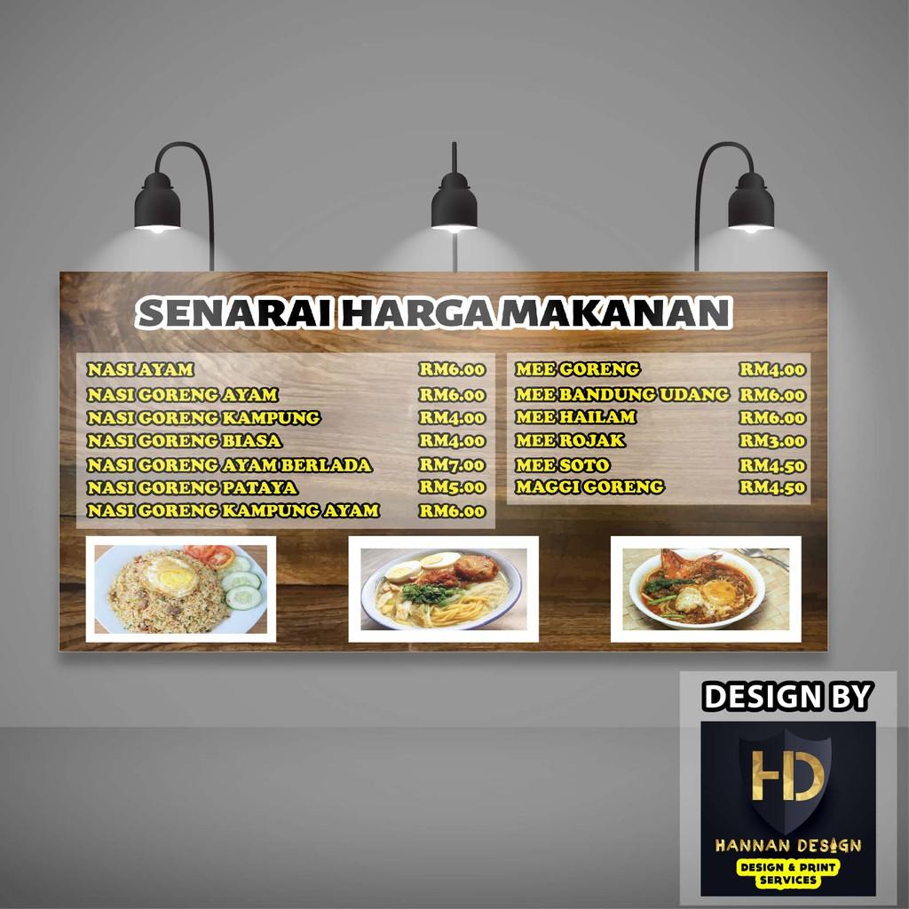 Banner Kedai Makanan Dan Minuman - gambar spanduk