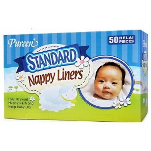 Pureen Standard Nappy Liners 50pcs (BEST BUY)
